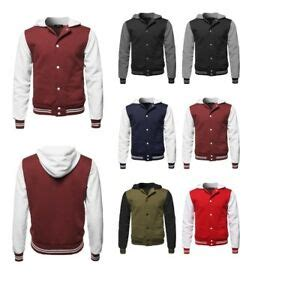 fashionoutfit mens casual long sleeves baseball fleece