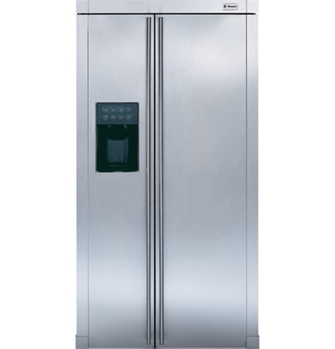 ge monogram  standing side  side refrigerator zfsbdrss ge appliances
