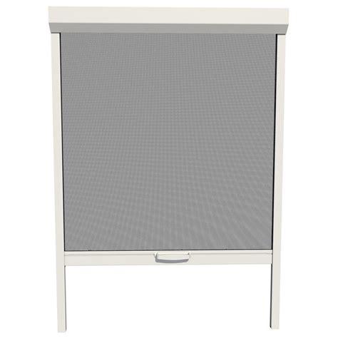 shop larson naturevue white aluminum retractable curtain