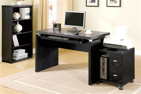 black wood computer desk black wood computer desk steal a sofa furniture outlet