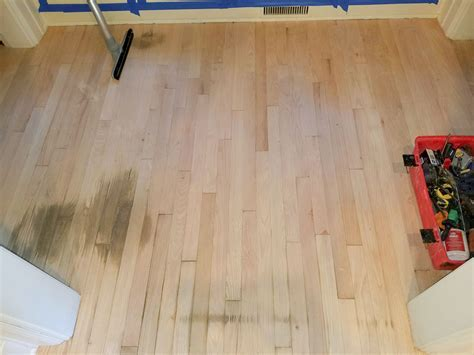 Repairing water damaged hardwood floors   Mr. Floor Chicago