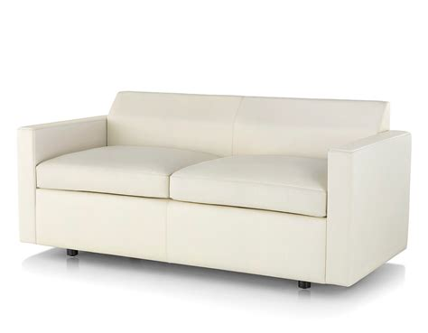 Settee With Arms by Bevel Settee With Arms Hivemodern