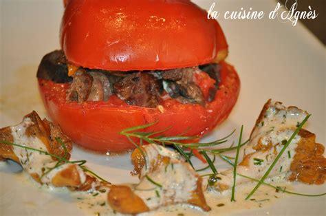 cuisine girolles tomate confite aux girolles et aux foies de volaille