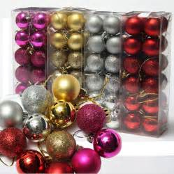 24pcs lot christmas tree decor ball bauble hanging xmas party ornament decorations for home new