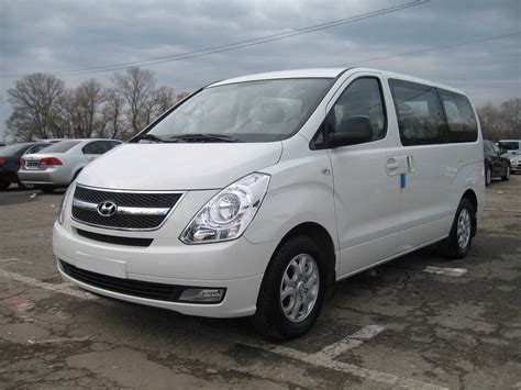 Hyundai Starex Picture by 2009 Hyundai Starex Pictures Information And Specs