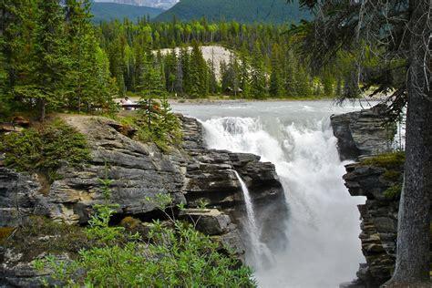Athabasca Falls At Dusk Jasper Alberta Canada
