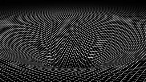 Black And Abstract Wallpaper by Abstract Black And White Gravity 3d Warped Wallpaper