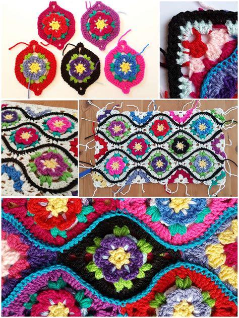 moroccan flower garden  crochet pattern stylesidea