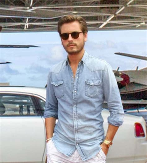 scott disick internet flips  size   lords dong