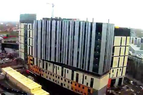 carillion put combustible cladding  liverpool hospital