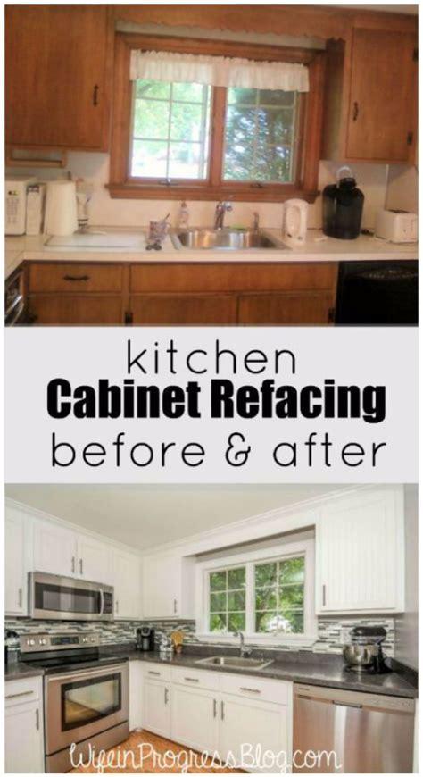 kitchen cabinet refacing ideas diy 37 brilliant diy kitchen makeover ideas