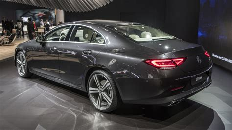 Mercedes Reveals The 2019 Cls With An Inlinesix Engine At