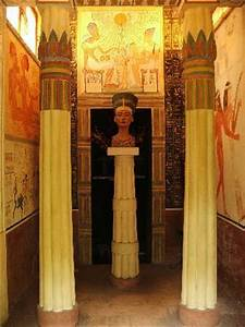 Egyptian temple of Nefertiti - Picture of Morcote, Canton ...