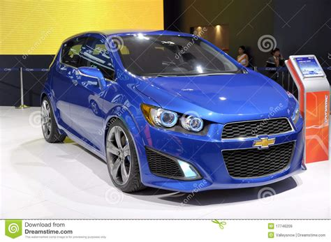 Chevrolet Aveo Rs Coupe Editorial Stock Image Image Of