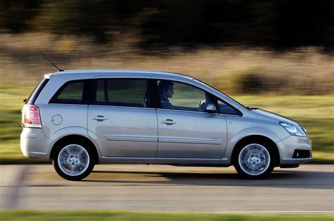 vauxhall zafira estate 2005 2014 driving performance