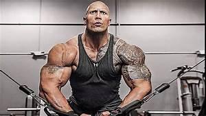 Dwayne Johnson [The Rock] Workout 2016-2017 - YouTube