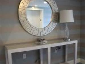 photo deco entree grise par deco With couleur peinture couloir entree 11 idee deco du hall dentree
