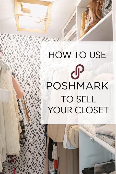 using poshmark to sell my closet diana elizabeth