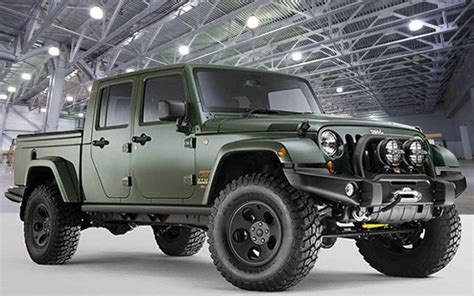 new jeep truck concept new jeep pickup for 2017 autos post