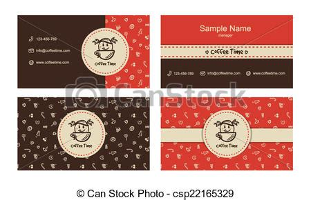 vector bakery business cards template  logo  sweets