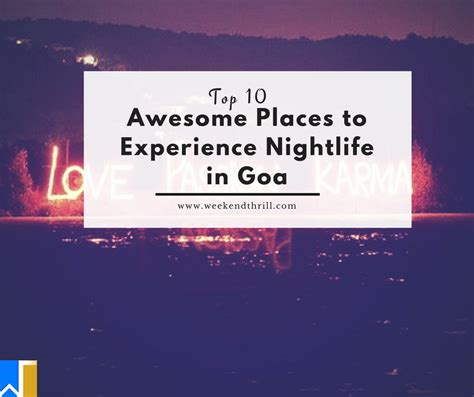 Top 10 Awesome Places To Experience Nightlife In Goa