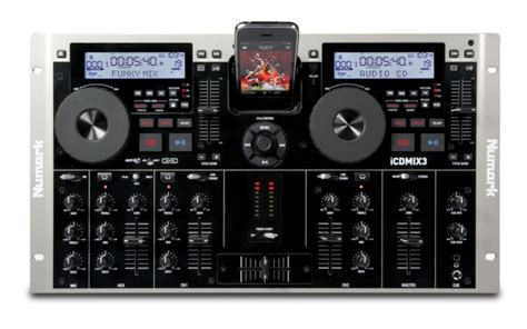 Icdmix 3 Dual Mp3cd Performance System With Universal