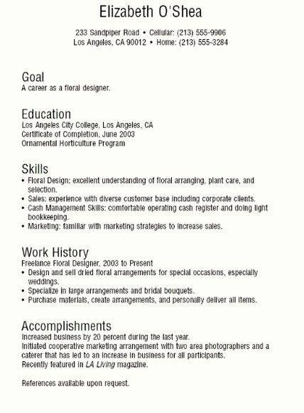 teenage resume template httpgetresumetemplateinfo