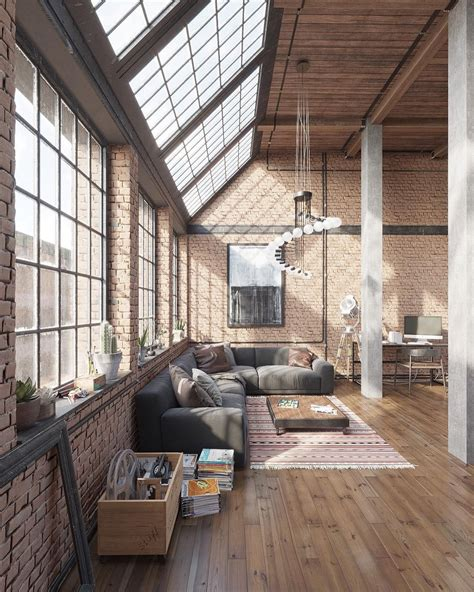 Loft Industrial Style by The Industrial Loft Design That Is Going To Rock Your