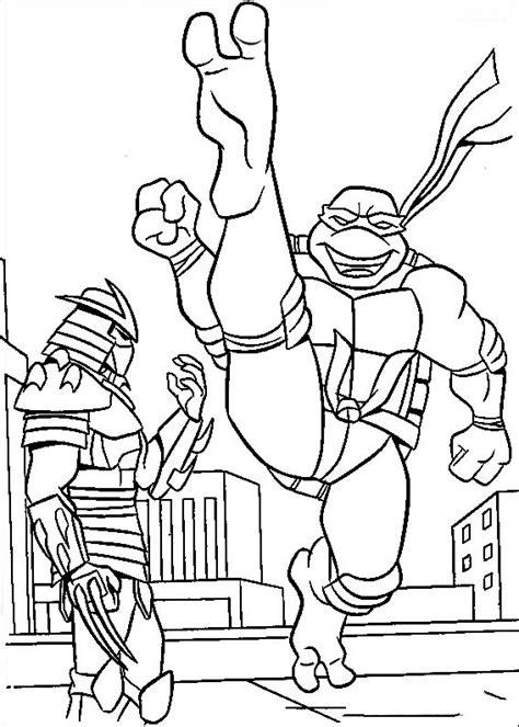 teenage mutant ninja turtles coloring pages birthday
