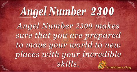 Angel Number 2300 Meaning | SunSigns.Org