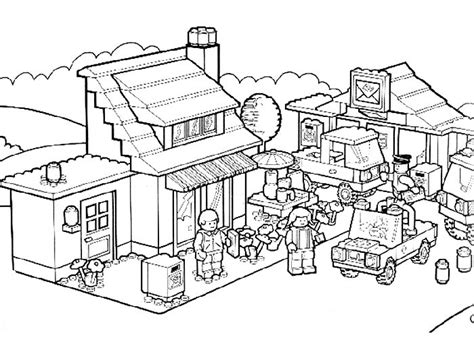 Lego Hobbit Coloring Pages - Eskayalitim