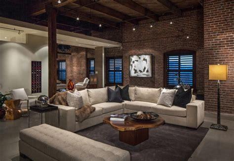 spectacular industrial living room interior designs