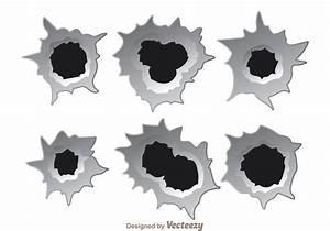 Bullet Hole Effect Vectors - Download Free Vector Art ...