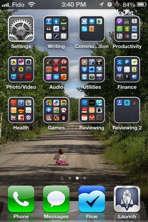 organize  apps  folders   iphone