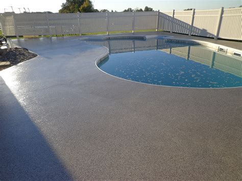 concrete pool deck coating diy pool deck coating