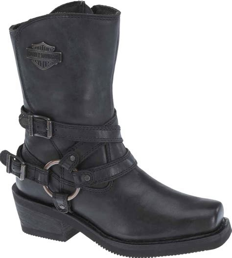 ladies black motorcycle boots harley davidson women 39 s ingleside 8 5 quot motorcycle boots