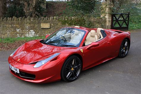 How Much Is A 458 by 458 Spider 2012 Buying And Selling Parkers