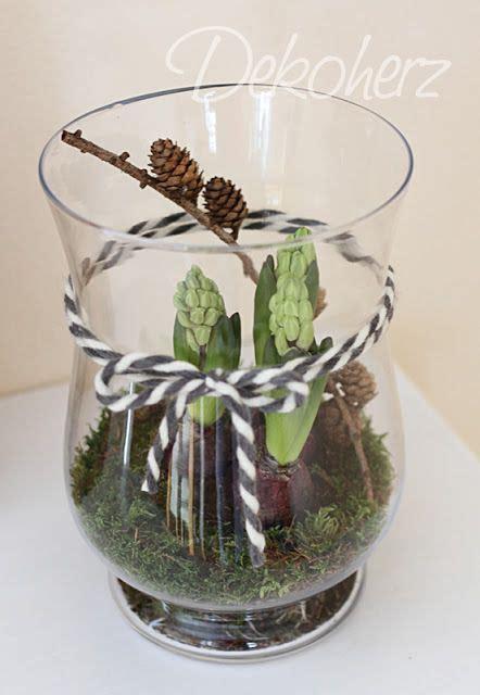Im Glas Dekorieren by Dekoherz Fr 252 Hling Easter Bulbs Und Seasonal Decor