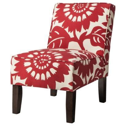 Floral Upholstered Living Room Chairs by My Friend Abbie Wasn T Kidding Target Has Some