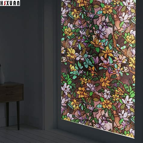 removable privacy window removable tint window privacy 70x100cm pvc magnolia 4700