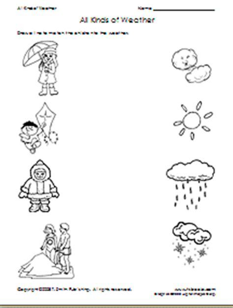 weather worksheet   weather opposites worksheets