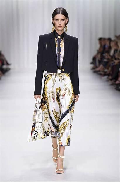 Versace Spring Summer Runway Womens Stylish Milan