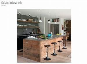 Cuisine Deco Industrielle : cuisine inspirations et tendances cocon d co vie nomade ~ Carolinahurricanesstore.com Idées de Décoration