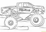Monster Bigfoot Truck Pages Coloring sketch template