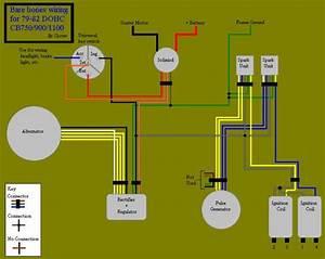 77 Cb550 Bare Bones Wiring Diagram