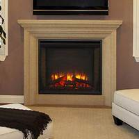 built in electric fireplace Hearth & Home 30-In Built-In Electric Fireplace - SF-BI30-EB