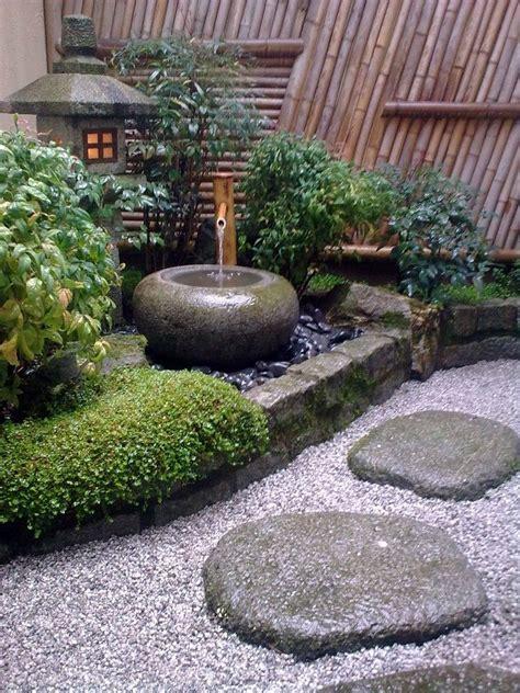 Japanischer Garten Deko by Deko Japanischer Garten Ideen Laterne Brunnen Wasser