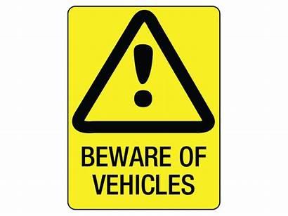 Signs Sign Safety Beware Vehicles Workshop Metal
