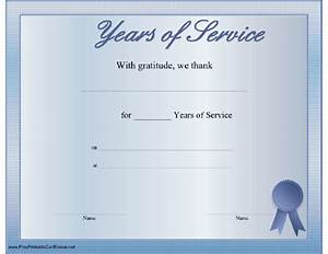 10 best images of 30 years of service certificate years With years of service certificate templates free