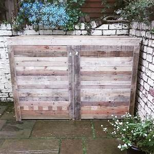 How To Make A Bike Shed From Pallets - Bicycling and the